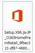 Microsoft Office365 Solo無料お試し版(体験版)をダウンロードした時のファイル名とアイコン画像.jpg