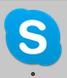 MacのDockにある無料通話ソフトSkypeのアイコン