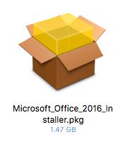 MacでMicrosoft Office365 Solo無料お試し版(体験版)をダウンロードした時のファイル名とアイコン画像